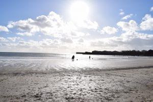 Par Beach in Winter